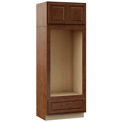 double oven cabinet home depot hton bay hton assembled 33 x 90 x 24 in pantry