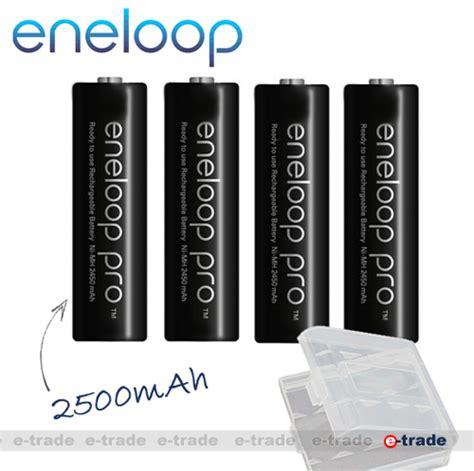 Charger Panasonic Eneloop 2 Hours Eneloop Pro 2500mah Isi 4 4pcs panasonic eneloop black pro 2500mah aa r6 1 2v box