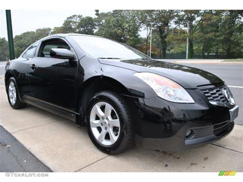 altima nissan black super black 2008 nissan altima 2 5 s coupe exterior photo