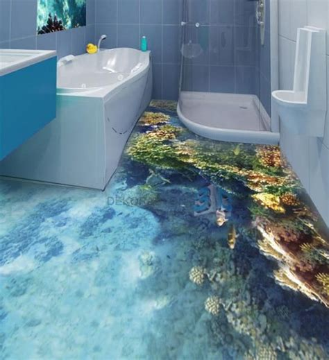 water tiles in bathroom 3d bathroom water floor paper wood floors