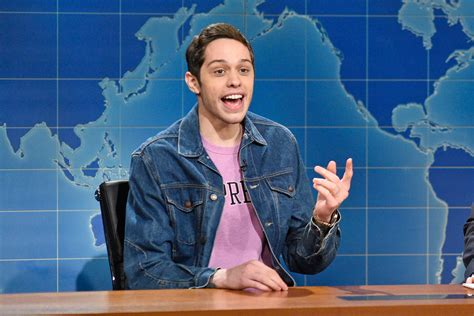 pete davidson update snl pete davidson opens up about mental health on snl