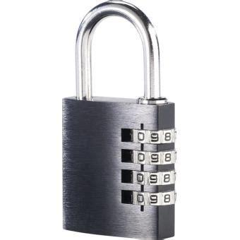 cadenas 224 code 4 chiffres en aluminium 38 mm