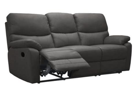 3 seater sofa with 2 recliner actions bartley 3 seater sofa with 2 manual recliner actions for 163