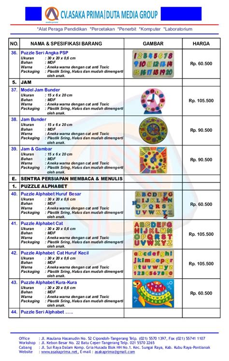 Jual Mainan Edukasi Kayu by Jual Mainan Edukatif Mainan Edukasi Mainan Kayu Mainan