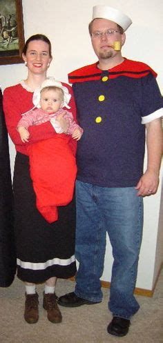ancient costume theme diy olive popeye olive oyl and swee pea all hallows popeye olive oyl