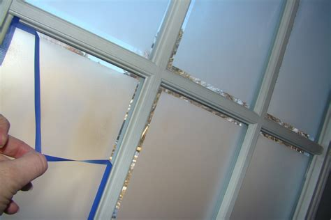 Cindy Riddle Frosted Glass On French Doors Diy Frosted Glass Door