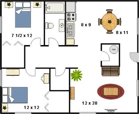 house sq ft 800 sq ft house plans with 2 bedrooms 800 sq ft house