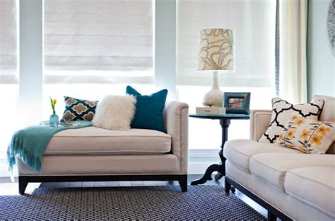 chaise lounge living room chic living room with a gorgeous upholstered chaise lounge