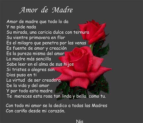 imagenes de amor de madre poema de amor blog archive pensamientos para facebook