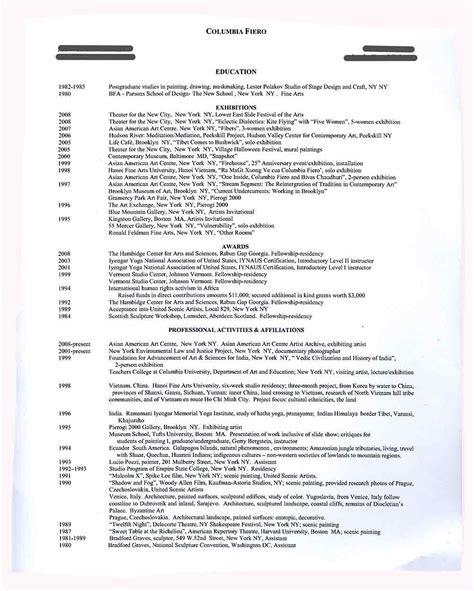columbia resume resume ideas