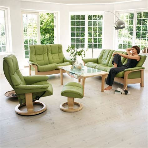 windsor green couch the green stressless windsor collection