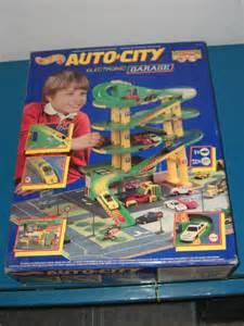 1995 Mattel Hot Wheels Auto City Electronic Garage Set