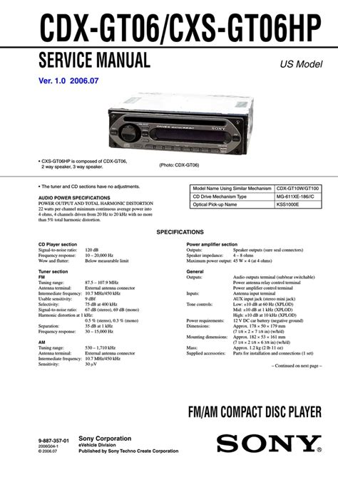 sony cdx wiring diagram 23 wiring diagram images