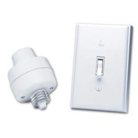 heath zenith l socket and switch kit bl 6138 wh the