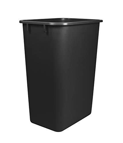 15 inch trash cabinet storex large waste basket 15 5 x 11 x 20 75 inches black