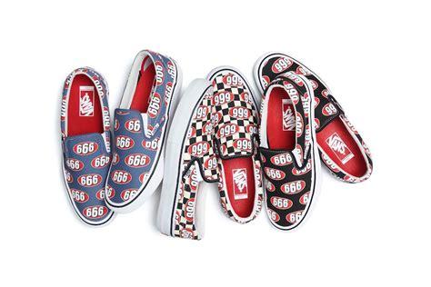 supreme x vans supreme x vans slip on 666 collection sneaker bar detroit