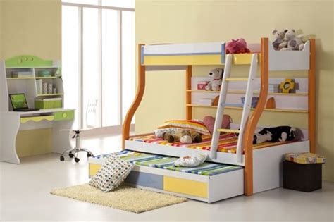 multifunctional childrens bed multi functional beds for small kids bedroom interior