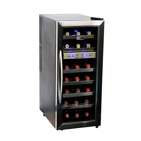 whynter 21 bottle dual zone wine cooler wc 211dz the