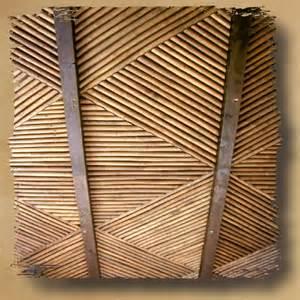 Solid Bamboo Safari Thatch Inc