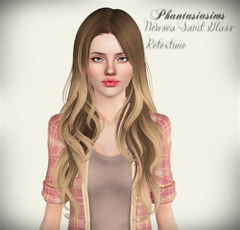 the sims 3 cc hair phantasiasims newsea sand glass sims 3 body mode