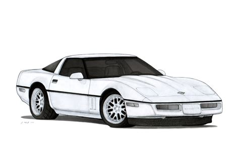 vintage corvette drawing some pretty cool pencil drawings in this gallery