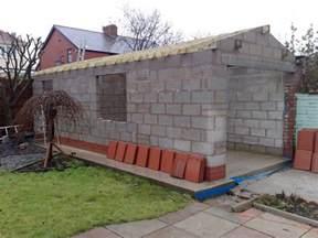 cinder block garage plans building garage much homes gardens house plans 61054