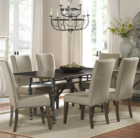 dining room fabric chairs dining room table with fabric chairs alliancemv com