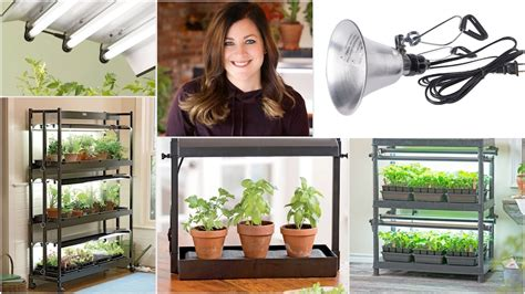 indoor grow light system ideas garden answer youtube