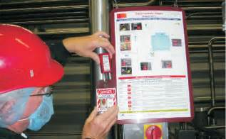 lockout tagout placards equipment specific loto signs