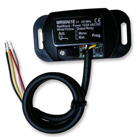 Garage Door Receiver Replacement Kit Garage Door Opener Mini Receiver Kit 433 Mhz