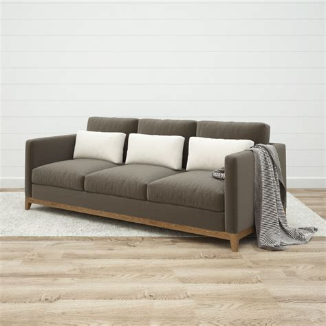 crate and barrel oasis sofa crate and barrel futon