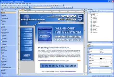 html editor website builder web design software wysiwyg web builder download for windows free software
