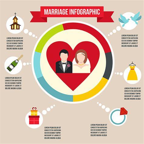 Infographic Wedding Program Template 187 Designtube Creative Design Content Wedding Infographic Template