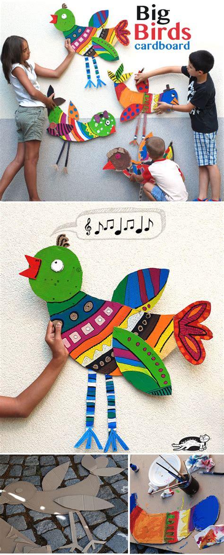 the little book adventure project 4 dine with a book krokotak big cardboard birds