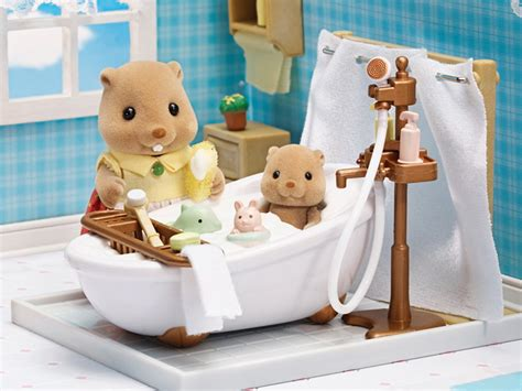 calico critters bathroom deluxe bathroom set calico critters