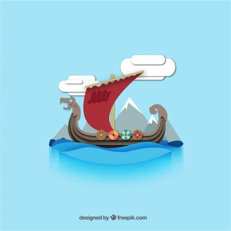 viking longboat graphic viking vectors photos and psd files free download