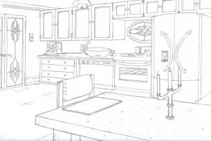 Kitchen Design Drawings by Kitchen Drawing By Sambraithwaite On Deviantart