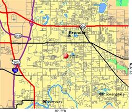 brandon florida zip code map 33511 zip code brandon florida profile homes