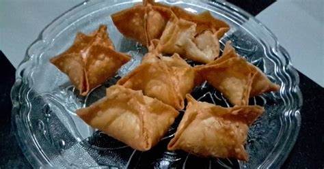 Dimsum Lumpia Goreng resep siomay goreng udang ikan dimsum oleh dina