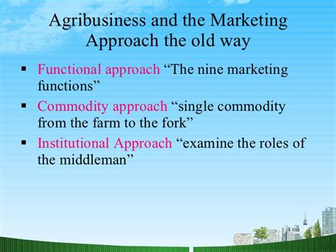 Mb2 Marketing Functions Producers Mba Research by Approaches To Marketing Mba Ppt