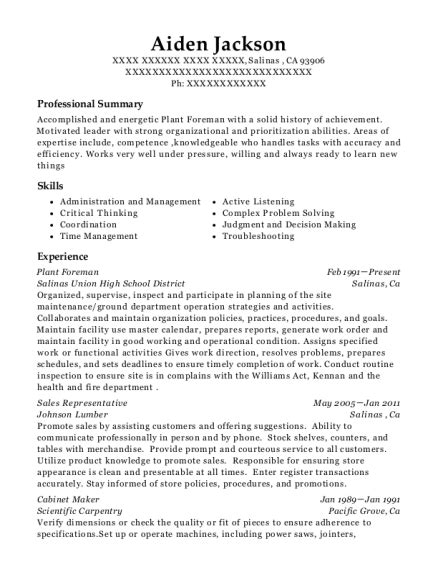 best cabinet maker best cabinet maker resumes resumehelp