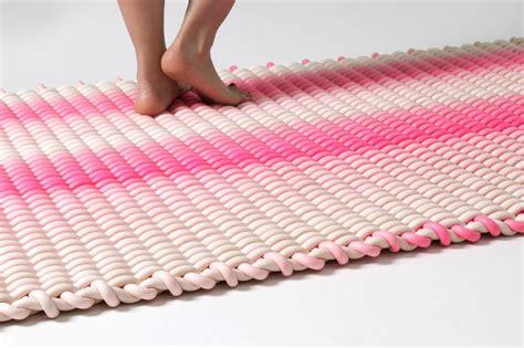 tappeto vibrante vibrant silicone rugs silicone cord