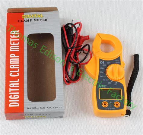 Tang Er Digital Mt87 400a mt87 digital cl meter multimeter voltage current