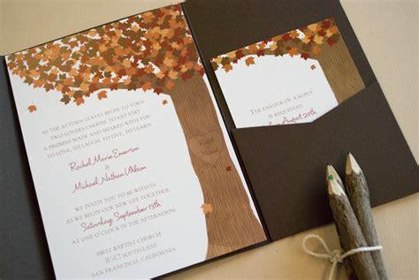 themed wedding invites fall themed ta bay wedding invitations invitation consultants me ta bay local