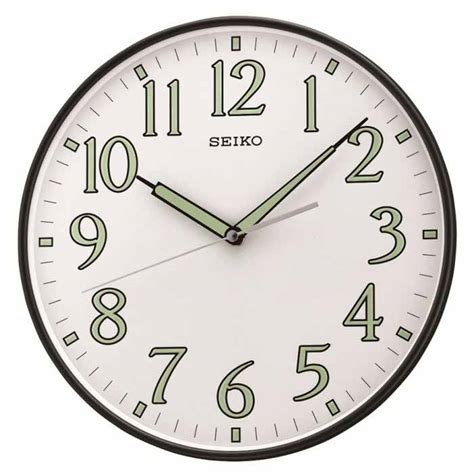 Sale Jam Dinding Seiko Qxa 014 seiko qxa521klh luminous wall clock the clock depot