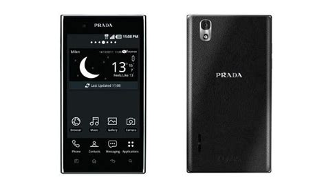 Fashion Mobile Lg Prada Phone by Third Fashion Phone By Prada And Lg