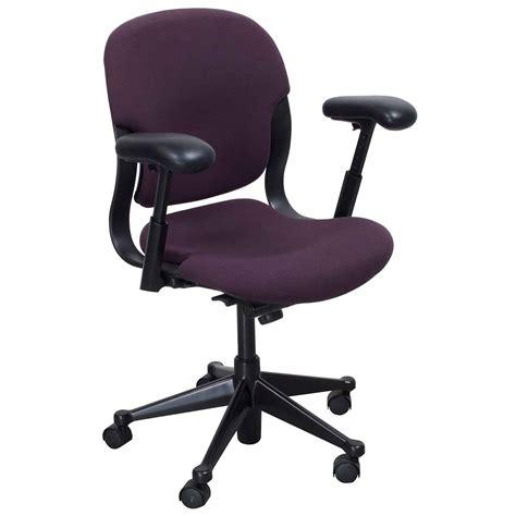 Herman Miller Equa 2 Stool by Herman Miller Equa 2 Used Mid Back Task Chair Plum