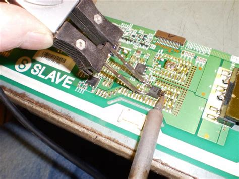 A typical TV repair - M.G. Electronics Westinghouse Tv Parts