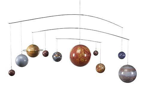 hanging solar system for room hanging planets room webnuggetz