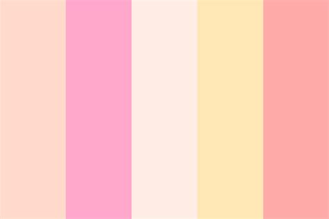 strawberry color strawberry smoothie color palette